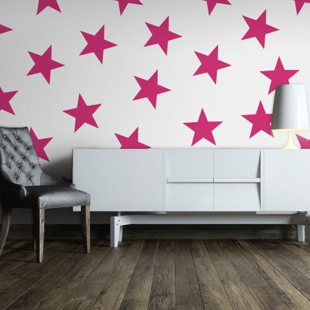 Fotomurale - Pink Star - Quadri e decorazioni