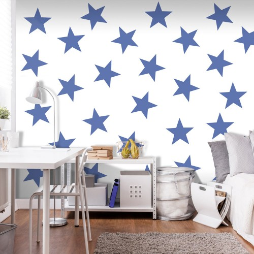 Fotomurale - Blue Star - Quadri e decorazioni