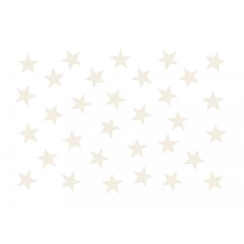Fotomurale - Beige Star - Quadri e decorazioni