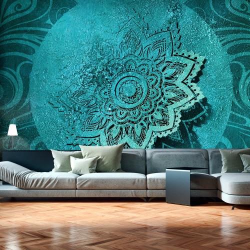 Fotomurale - Azure Flower - Quadri e decorazioni