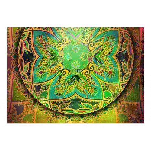 Fotomurale - Mandala: Emerald Fantasy - Quadri e decorazioni