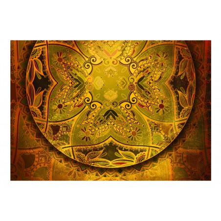 Fotomurale - Mandala: Golden Poem - Quadri e decorazioni