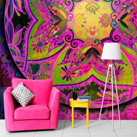 Fotomurale - Mandala: Pink Expression - Quadri e decorazioni