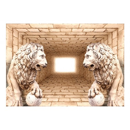 Fotomurale - Mystery of lions - Quadri e decorazioni