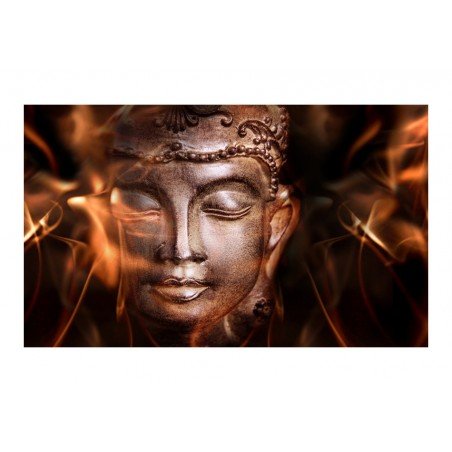 Fotomurale - Buddha. Fire of meditation. - Quadri e decorazioni
