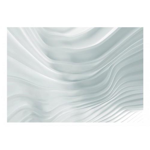 Fotomurale - Waving White - Quadri e decorazioni
