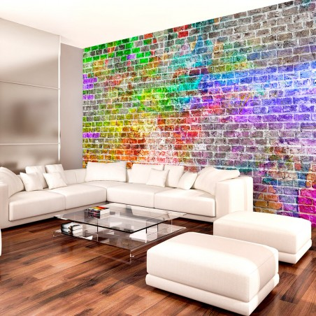 Fotomurale - Rainbow Wall - Quadri e decorazioni