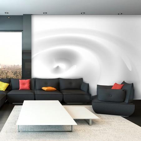 Fotomurale - White Swirl - Quadri e decorazioni