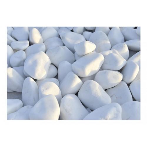 Fotomurale - Sassolini bianchi - Quadri e decorazioni