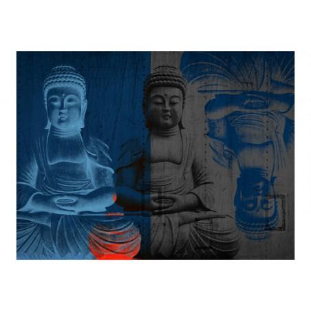 Fotomurale - Tre incarnazioni di Buddha - Quadri e decorazioni