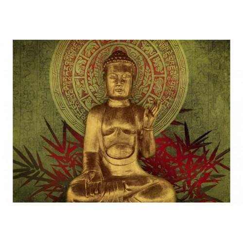 Fotomurale - Buddha dorato - Quadri e decorazioni