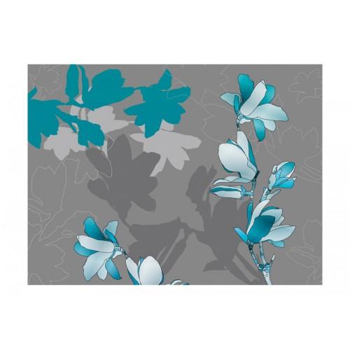Fotomurale - Magnolie azzurre - Quadri e decorazioni