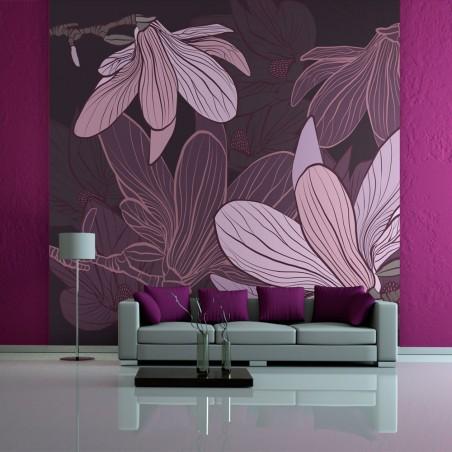 Fotomurale - Dreamy flowers - Quadri e decorazioni