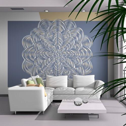 Fotomurale - Ornamento bianco - Quadri e decorazioni