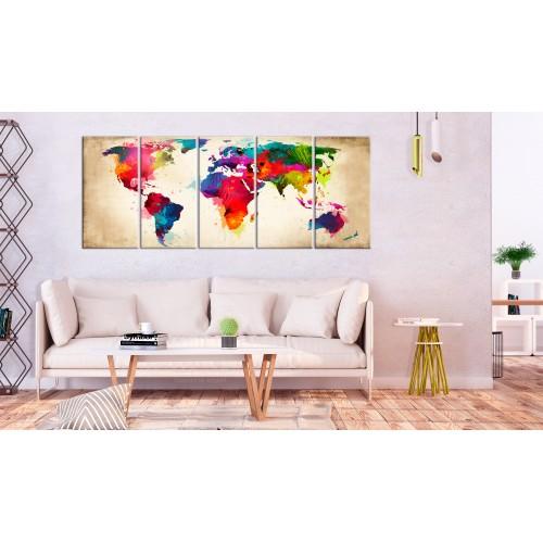 Quadro - Bright Continents - Quadri e decorazioni
