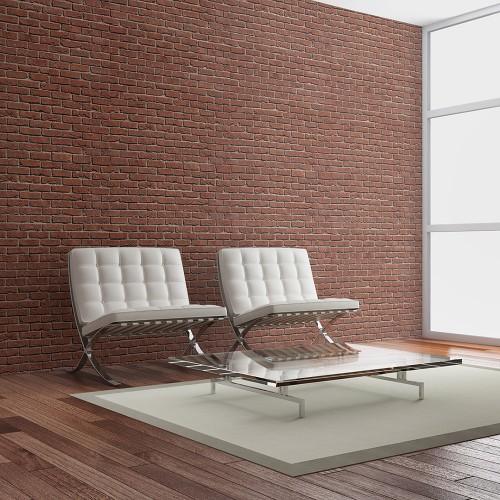 Fotomurale - Brick - simple design - Quadri e decorazioni