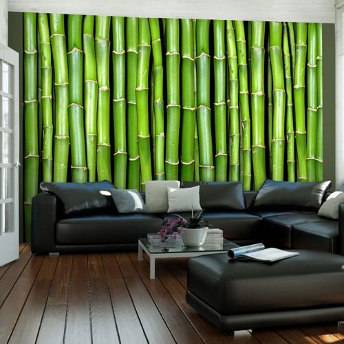 Fotomurale - Parete di bambù - Quadri e decorazioni