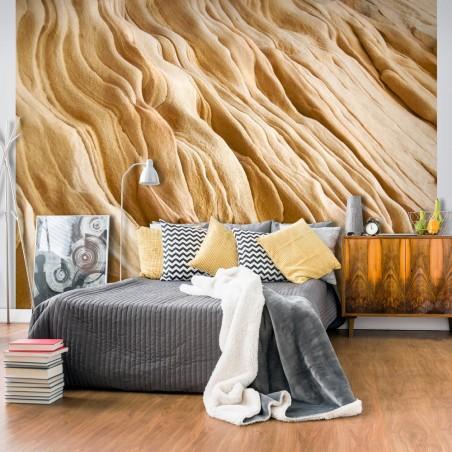 Fotomurale - Wavy sandstone forms - Quadri e decorazioni