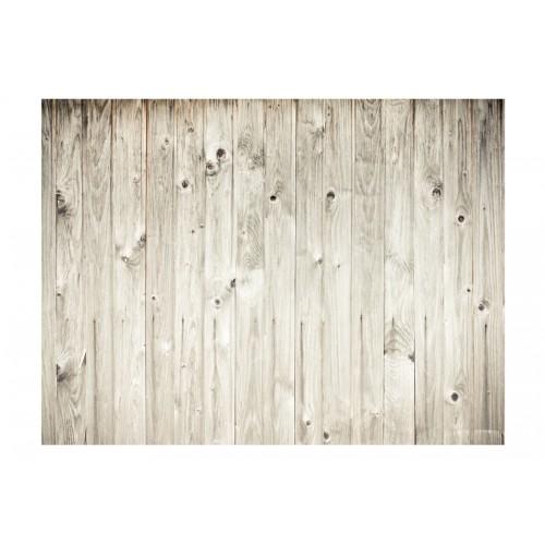 Fotomurale - Recinto in legno bianco - Quadri e decorazioni