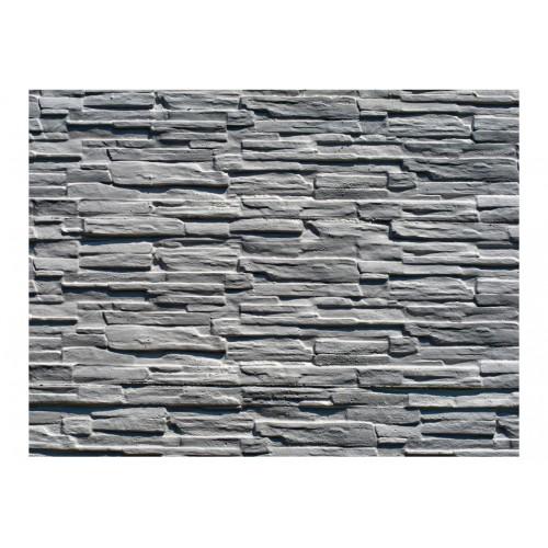 Fotomurale - Grigia parete in pietra - Quadri e decorazioni