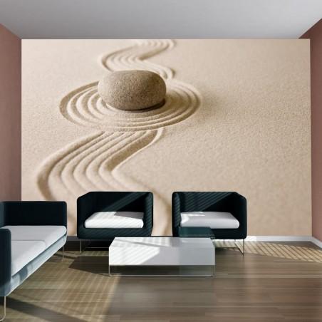 Fotomurale - Zen sand garden - Quadri e decorazioni