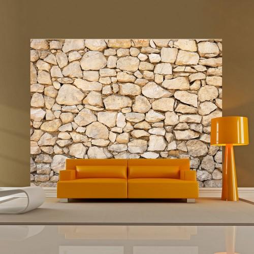 Fotomurale - illusione - pietra - Quadri e decorazioni