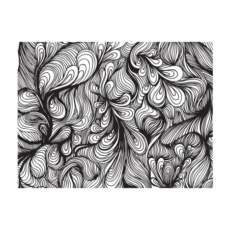 Fotomurale - Bianco e nero in un clima retrò - Quadri e decorazioni