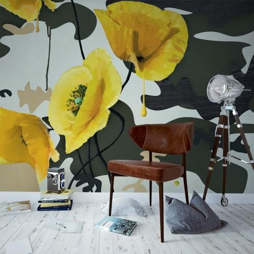 Fotomurale - Vernice fresca - Quadri e decorazioni