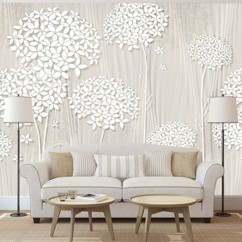 Fotomurale - Creamy Daintiness - Quadri e decorazioni