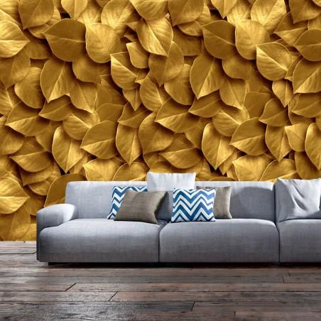 Fotomurale - Foglie d'oro - Quadri e decorazioni