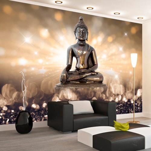 Fotomurale - Golden Enlightenment - Quadri e decorazioni