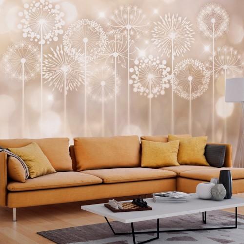 Fotomurale - Radiant Flowers - Quadri e decorazioni