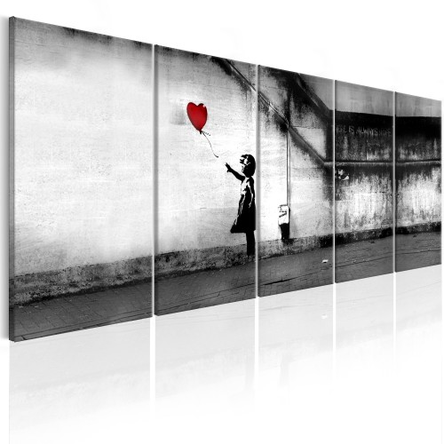 Quadro - Banksy: Runaway Balloon - Quadri e decorazioni