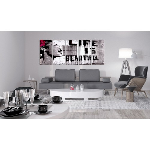 Quadro - Banksy: Life is Beautiful - Quadri e decorazioni