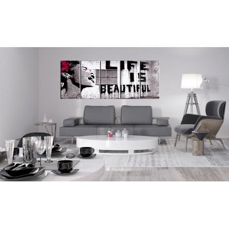 Quadro - Banksy: Life is Beautiful - Quadri e decorazioni