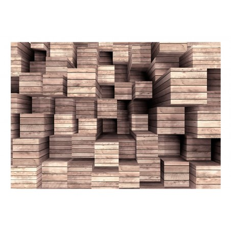 Fotomurale - Wooden Finesse - Quadri e decorazioni