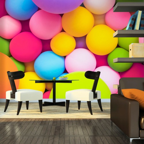 Fotomurale - Colourful Balls - Quadri e decorazioni