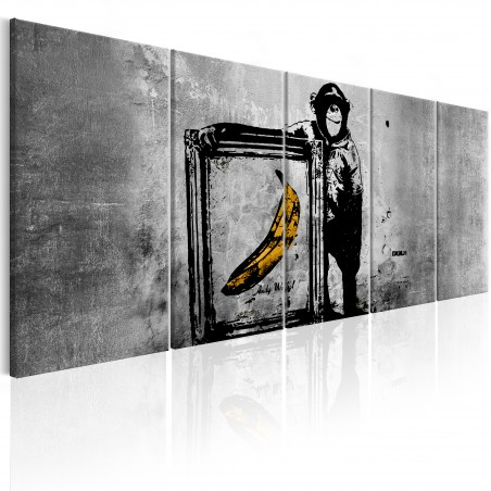 Quadro - Banksy: Monkey with Frame - Quadri e decorazioni
