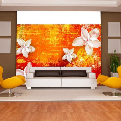 Fotomurale - Floral notes II - Quadri e decorazioni