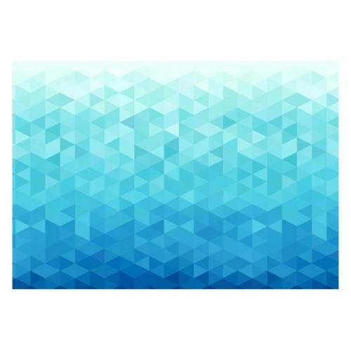 Fotomurale - Pixel azzurro - Quadri e decorazioni