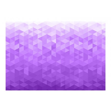 Fotomurale - Pixel viola - Quadri e decorazioni