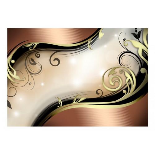 Fotomurale - Bagliore dorato - Quadri e decorazioni