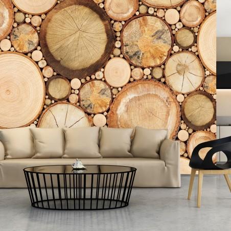 Fotomurale - Venatura del legno - Quadri e decorazioni