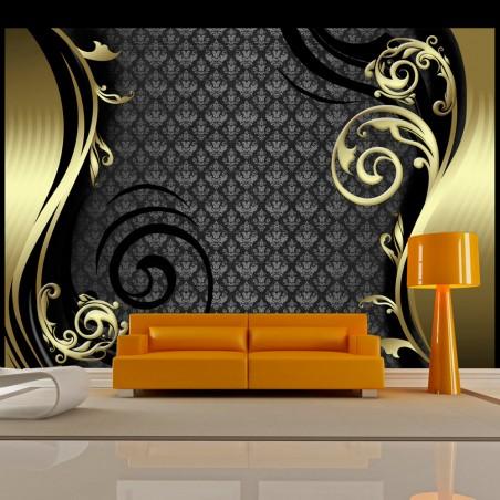 Fotomurale - Dietro il velo d'oro - Quadri e decorazioni