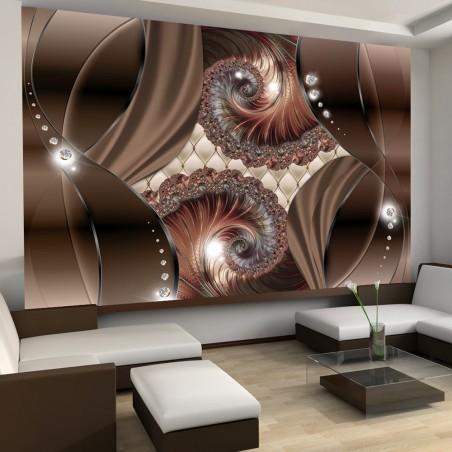 Fotomurale - Conchiglie color ruggine - Quadri e decorazioni