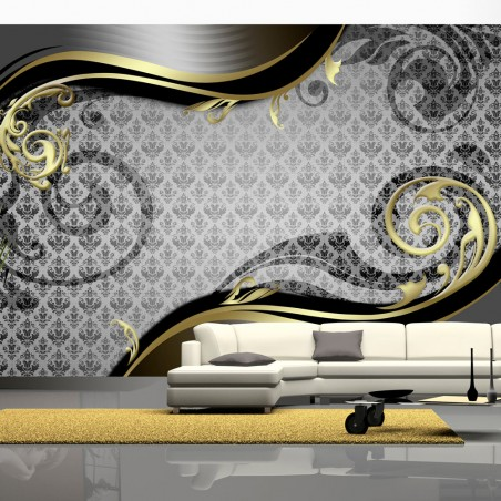 Fotomurale - Lumaca d'oro - Quadri e decorazioni