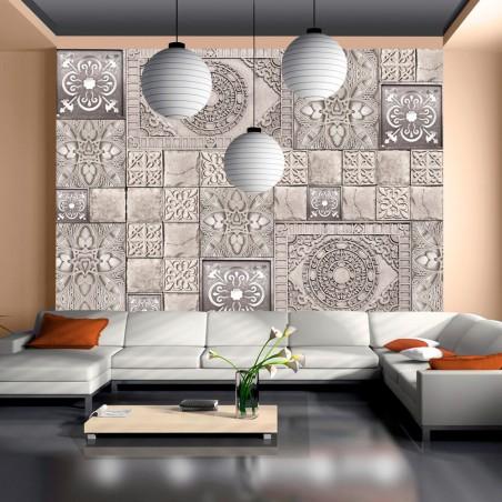 Fotomurale - Piastrelle di pietra - Quadri e decorazioni