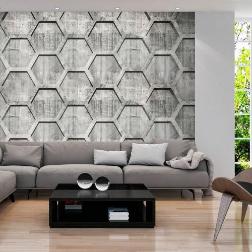 Fotomurale - Platinum cubes - Quadri e decorazioni