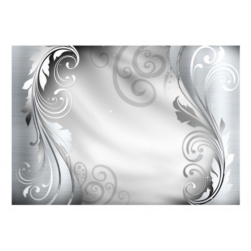 Fotomurale - Silver ornament - Quadri e decorazioni