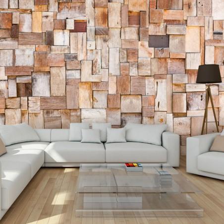 Fotomurale - Larch mosaic - Quadri e decorazioni